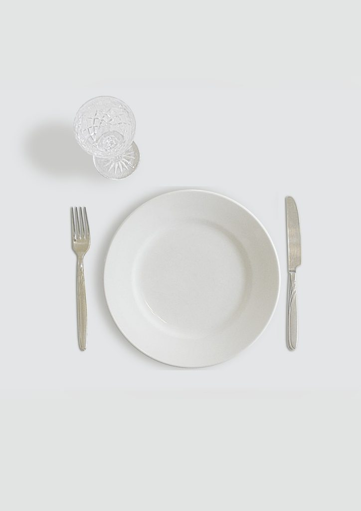 dishes, white, plate