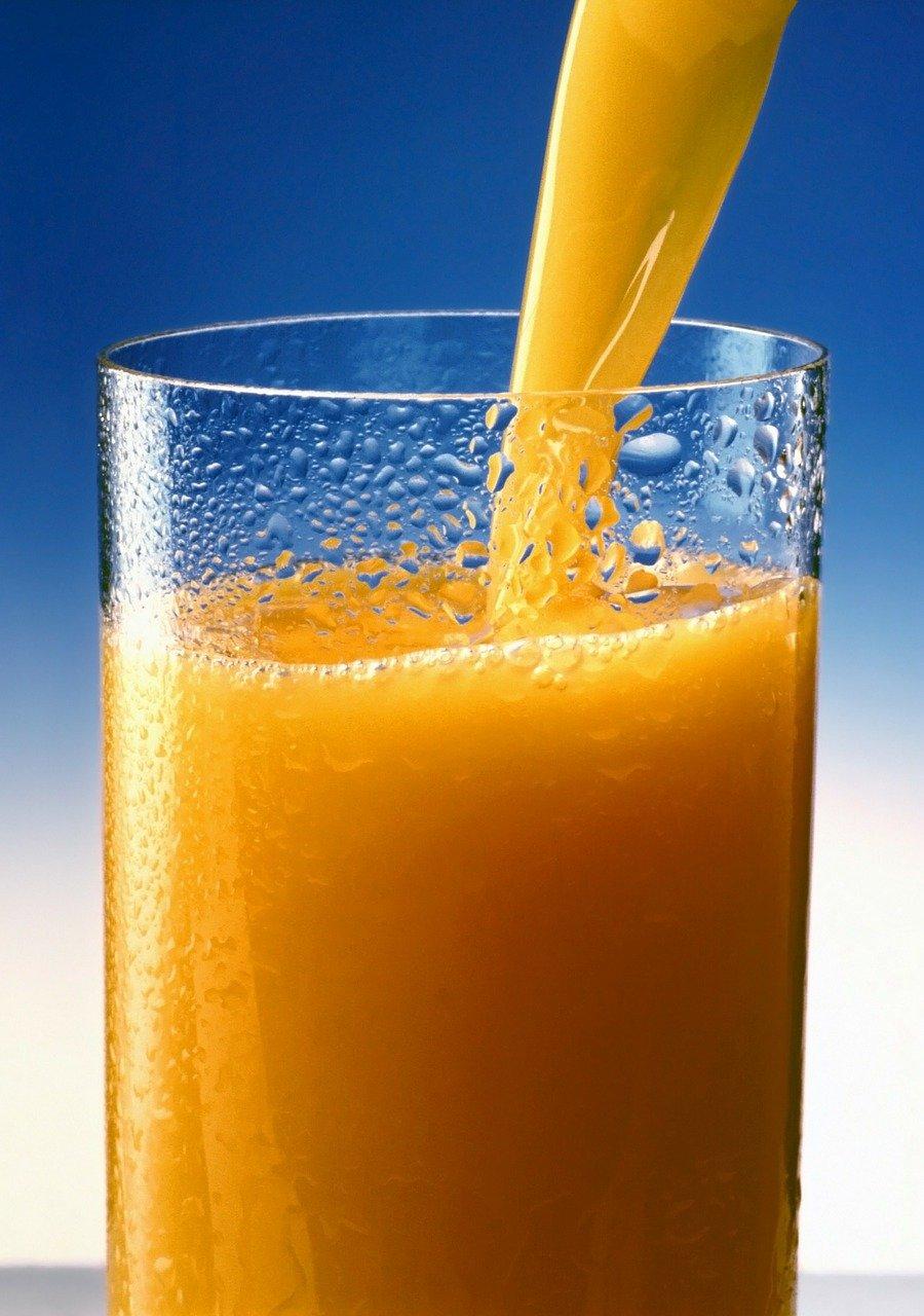 orange juice, juice, vitamins