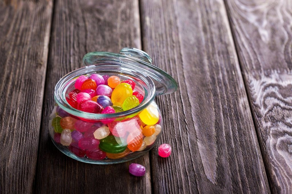 candy, sweetmeats, sweets